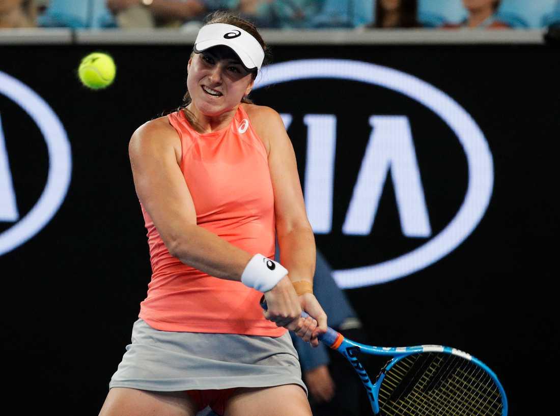 Rebecca Peterson förlorade i andra omgången i Australian Open.