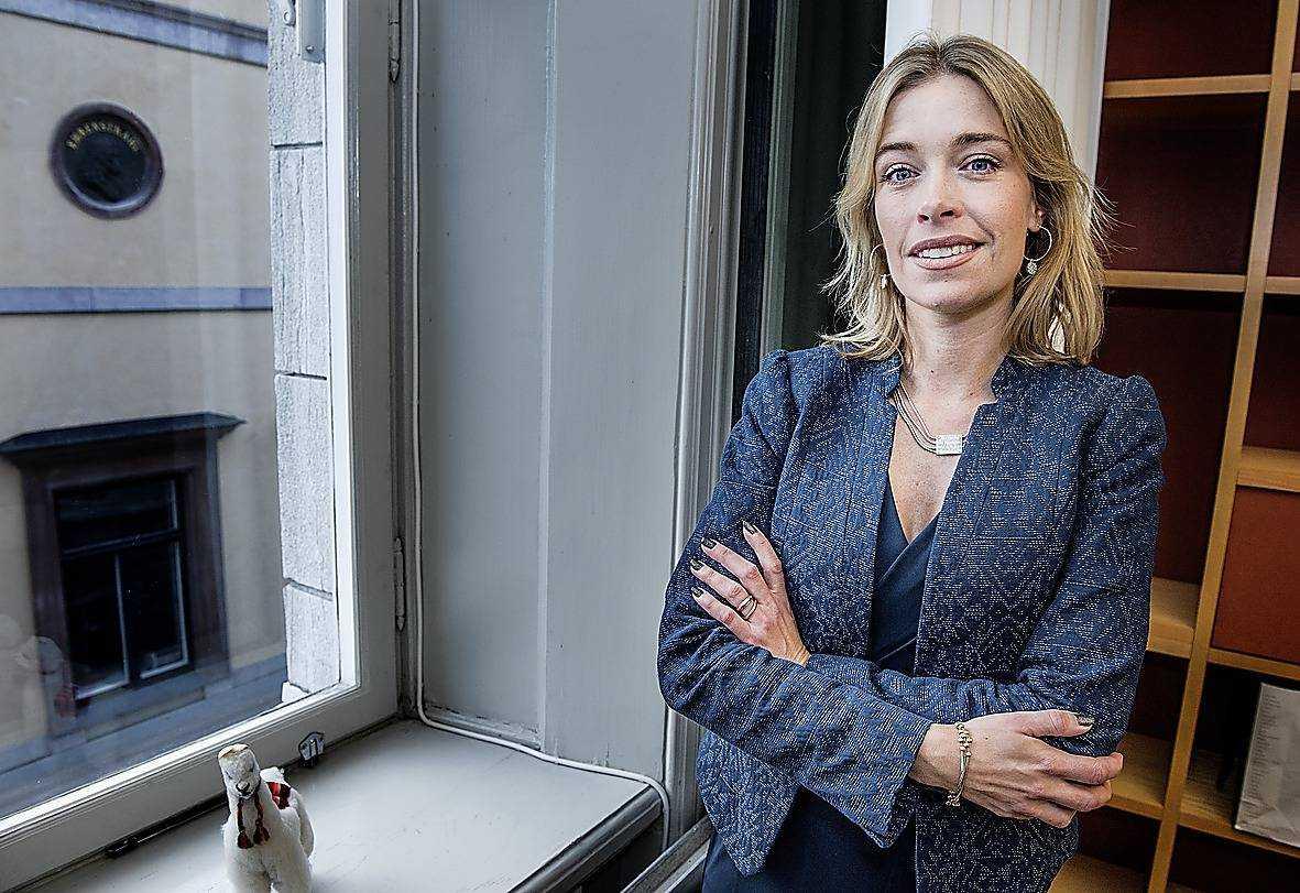 Socialförsäkringsminister Annika Strandhäll