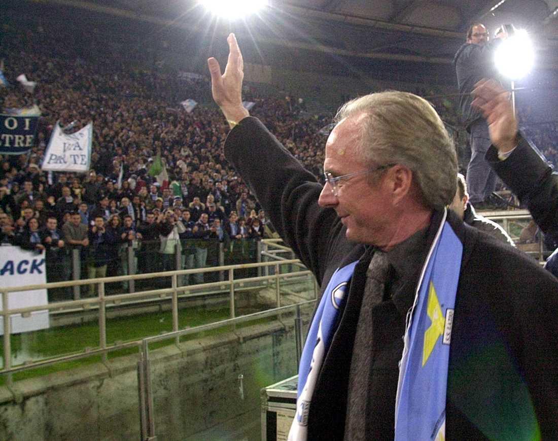 Senast Lazio vann nio raka matcher i Serie A var säsongen 1998–1999 då Sven-Göran Eriksson var tränare i klubben. Arkivbild.