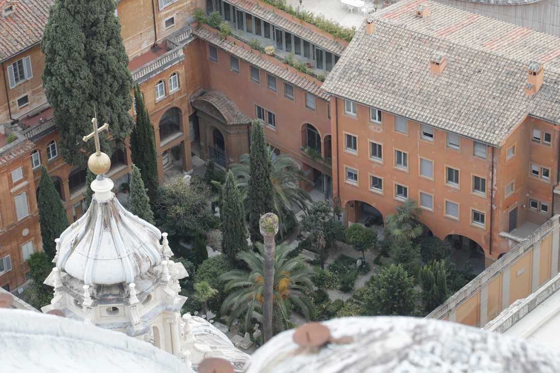 Gravarna inne i Vatikanen som undersöktes visade sig vara tomma