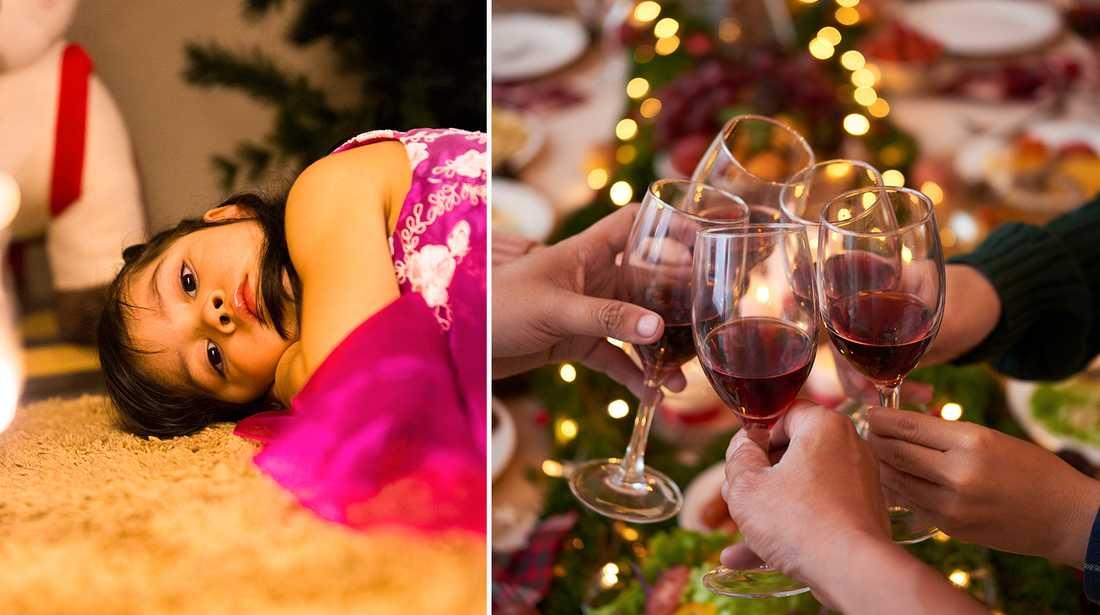 """Psykologen: """"Tyvärr stiger konsumtionen av alkohol i många hushåll under jul och nyår""""."""