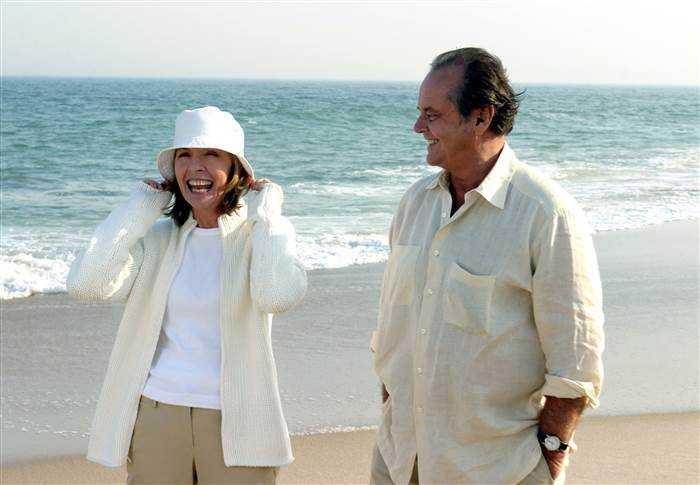 """Diane Keaton och Jack Nicholson i """"Galen i kärlek""""."""