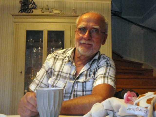 Tor Lekander, 70, mördades av Edvin.