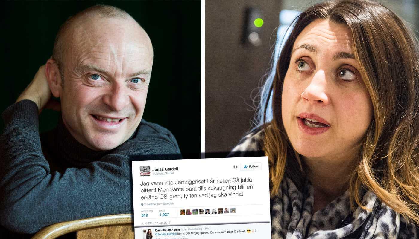 Jonas Gardells Och Camilla Lackbergs Grova Sexskamt Pa