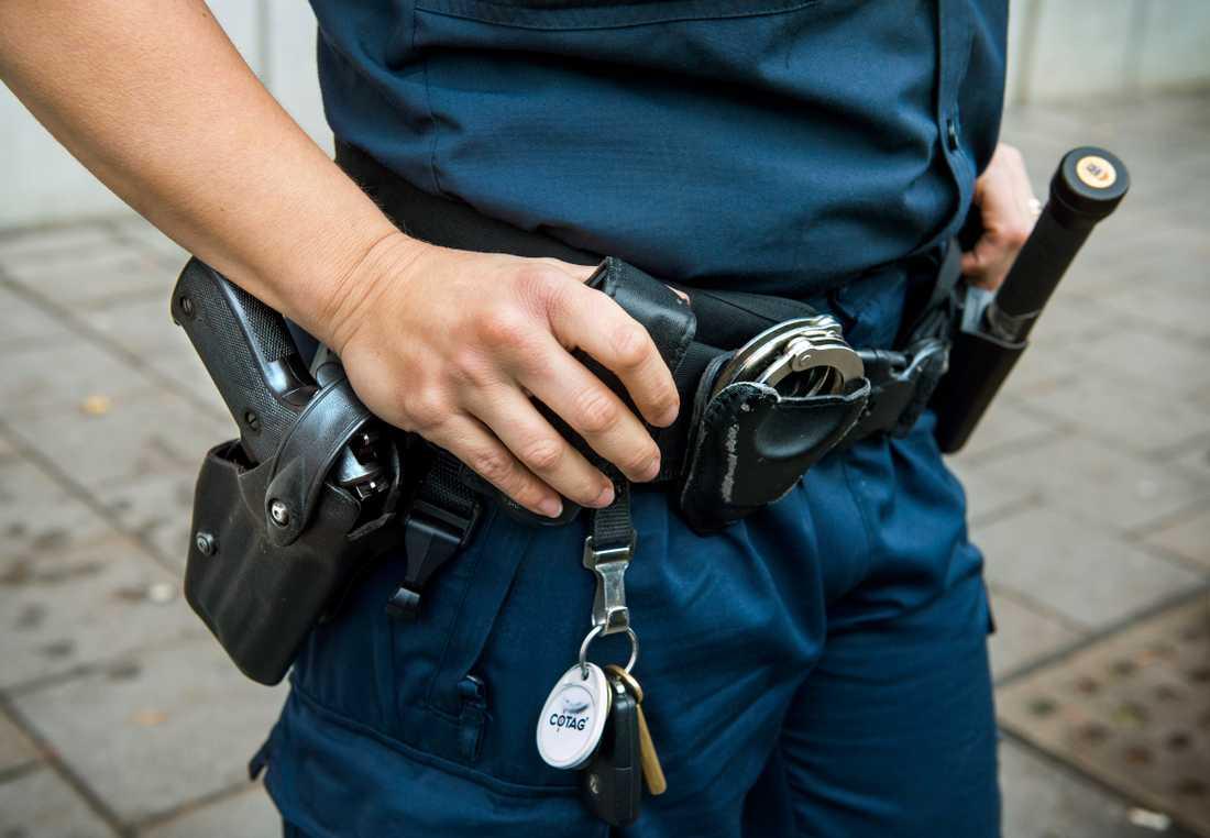 Funktionsinriktad polisutbildning blir en ny väg in i polisyrket för personer som redan har en gedigen akademisk utbildning, till att börja med sådana som redan är civilanställda inom polisen. Arkivbild.