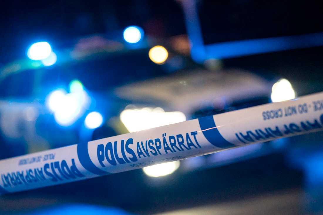 Ett bostadsområdet i Hofors spärrades av sedan ett misstänkt farligt föremål upptäckts. Arkivbild.