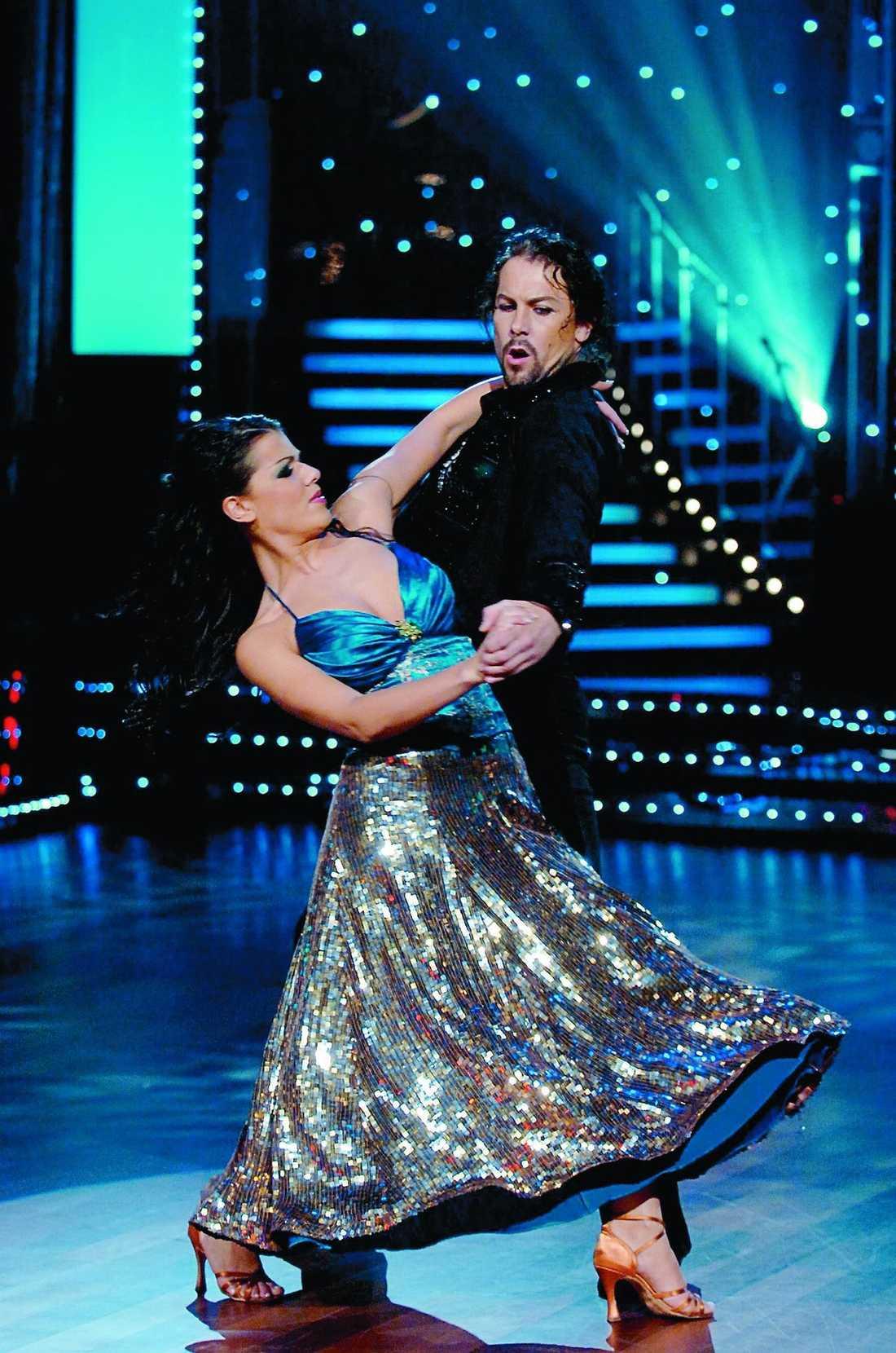"""Carin da Silva i 'Let's dance"""" 2011."""