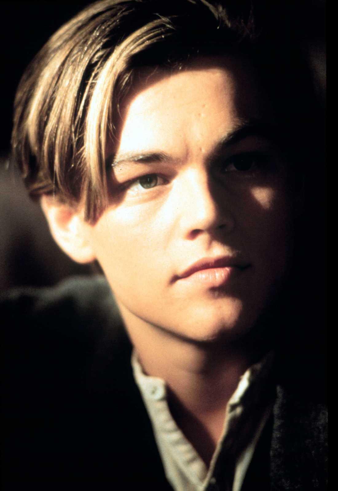 "Leonardo diCaprio i ""Titanic""."
