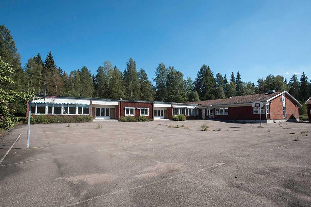 I de här lokalerna i Garpenberg vill Rabie Karam starta den nya skolan.