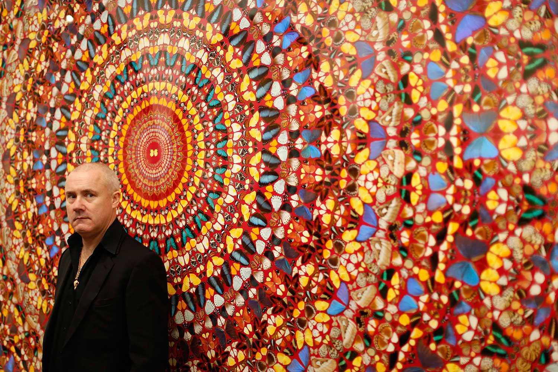 Brittiske konstnären Damien Hirst.