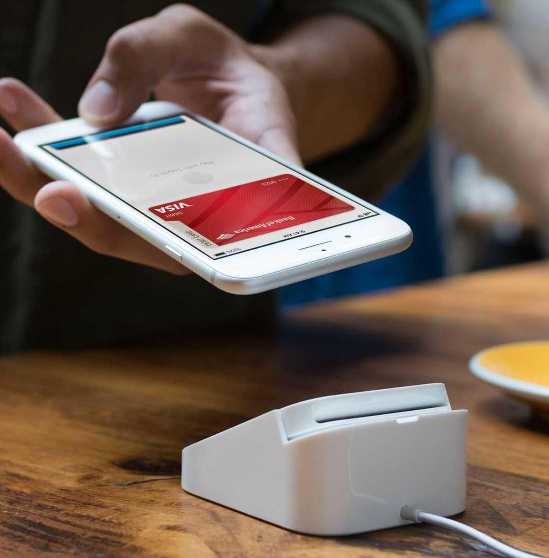 Med ett enkelt klick ska man kunna betala med Apple pay.