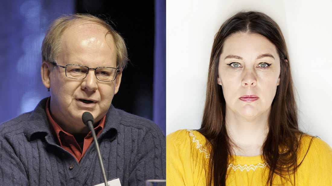 Hans Bergström kritiserar Jenny Maria Nilssons artikel i Aftonbladet om svensk skola och attackerna från höger.