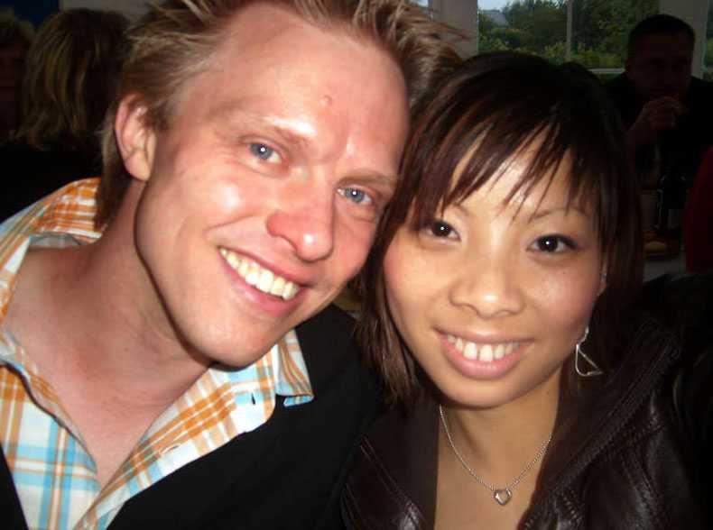 Mats Alms sambo Linda Chen försvann kort tid innan paret skulle gifta sig.
