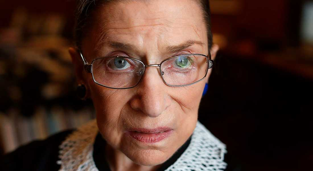 Redan på 1960-talet började Ruth Bader Ginsburgs, 89, långa engagemang för jämställdhet och mot diskriminering.