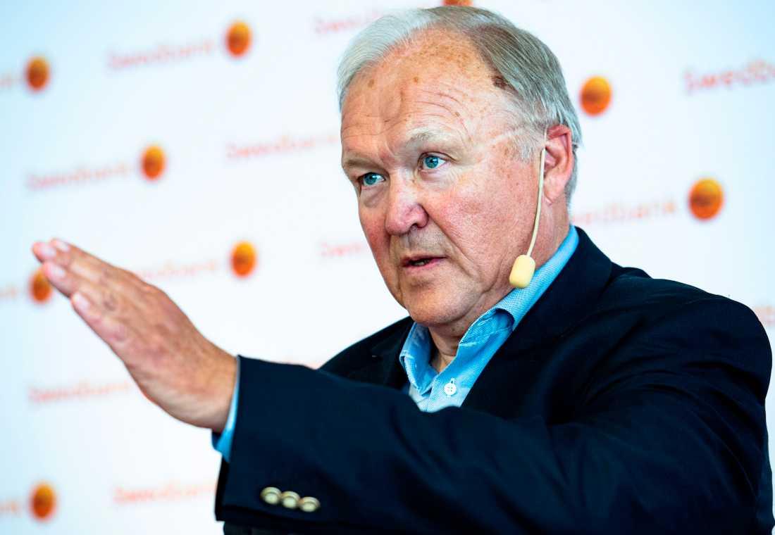 Swedbanks styrelseordförande Göran Persson.