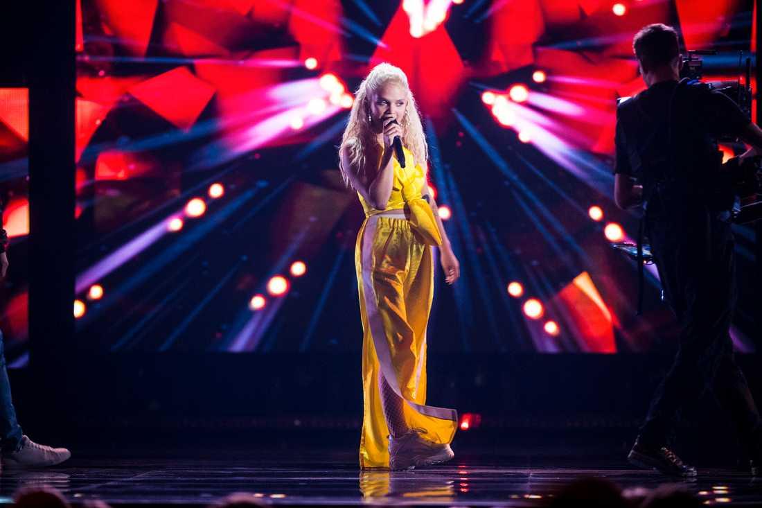 Margaret i Melodifestivalens final