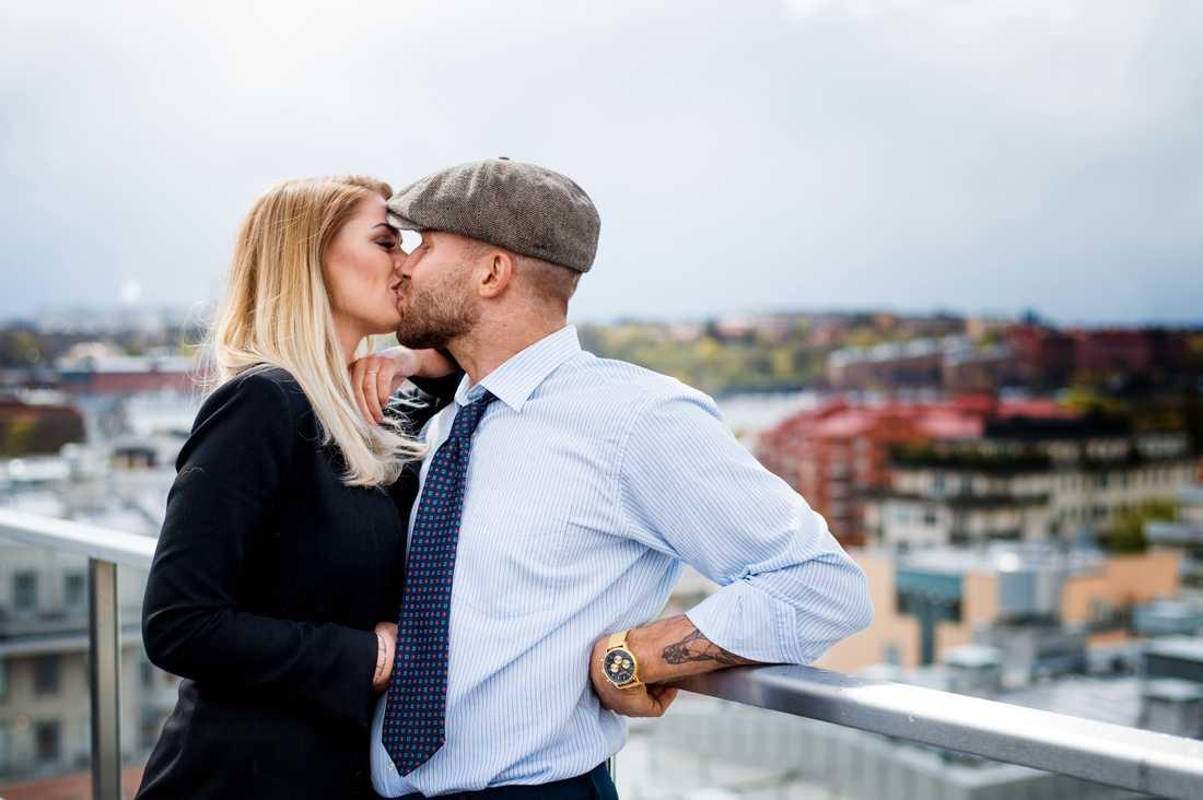 Sanel Dzubur och Lisa Jönsson.