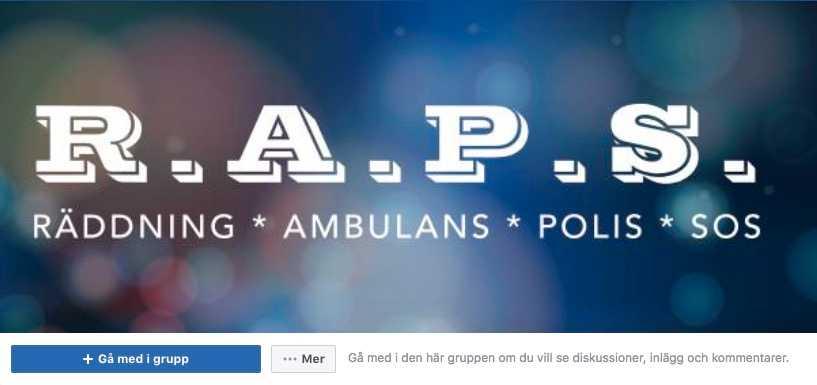 Via blåljusforumet RAPS på Facebook samlades en stor summa pengar in till Andreas Larsens barn.
