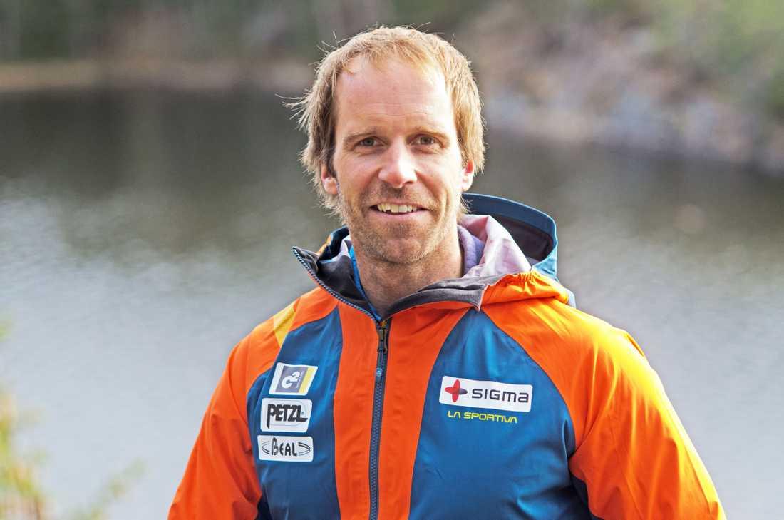 Fredrik Sträng, som blivit utsedd till Årets äventyrare, är väl förberedd för K2.