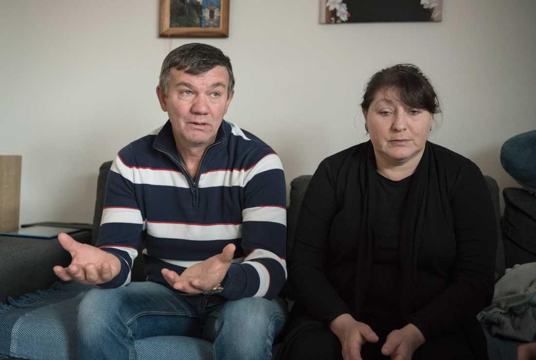 Marianna och Ivan.