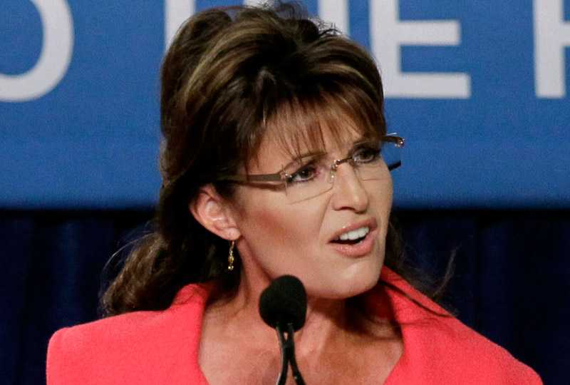 Republikanske politikern Sarah Palin, frontfigur för Tea Party-rörelsen i USA.