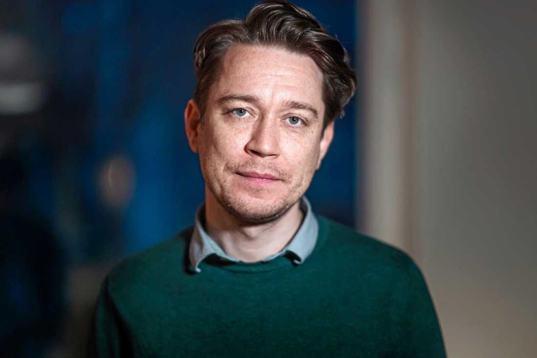 Aron Lund, Syrienkännare och Mellanösternanalytiker vid Totalförsvarets forskningsinstitut. Arkivbild.