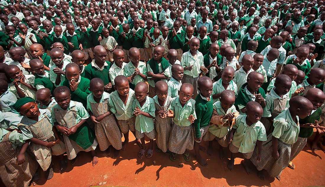 Några av de frågor som är viktigast för en ny relation till afrikanska länder och en effektiv fattigdomsbekämpning är det helt tyst kring. Foto