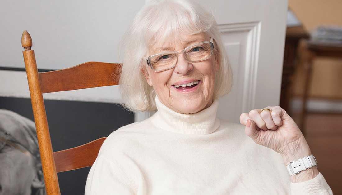 Birgitta Ulfsson blev 89 år.