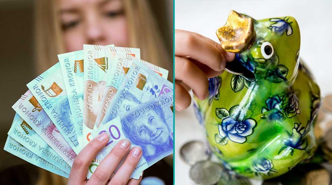 När ska man egentligen börja prata pengar med sina barn – och när ska man ge veckopeng?