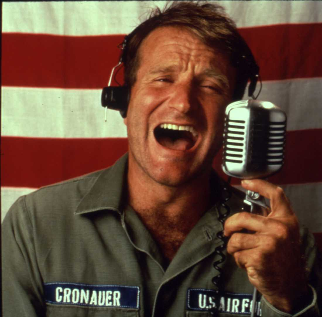 "Från filmen ""Good morning Vietnam""."