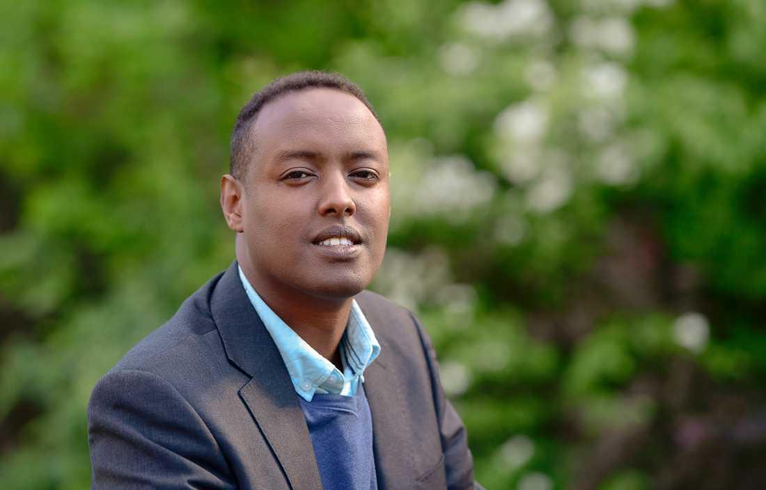Ahmed Abdirahman, grundare av The Global Village och Järvaveckan. Arkivbild.