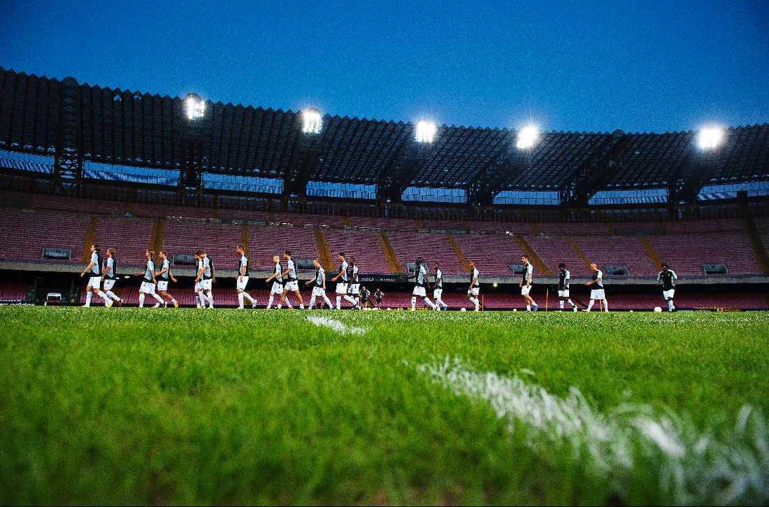 Nu börjar äventyret AIK kände i går kväll på San Paolos matta. I kväll väntar Napoli i lagets första Europa League-match.