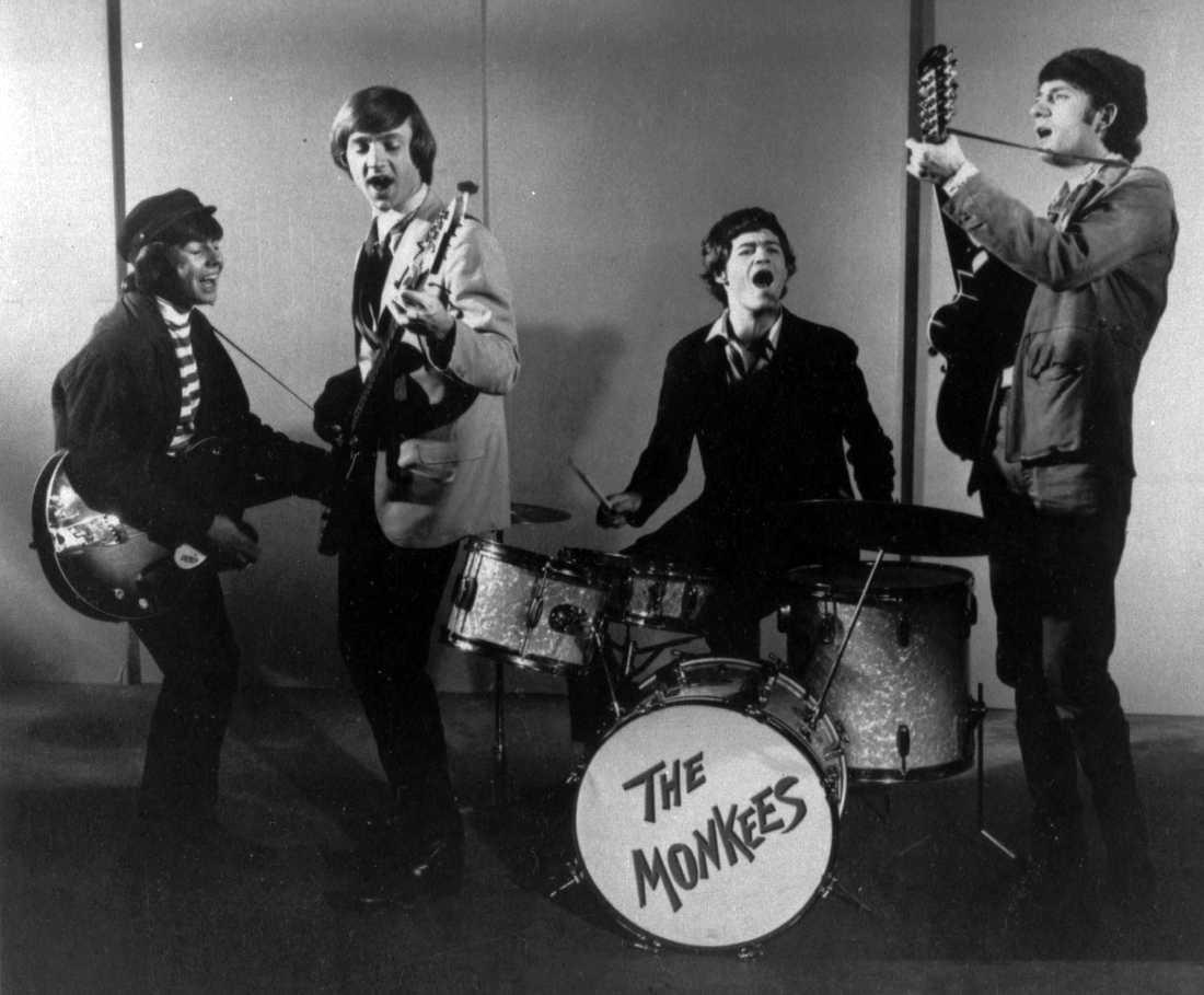 The Monkees 1966. Från vänster: Davy Jones, Peter Tork, Micky Dolenz and Mike Nesmith.