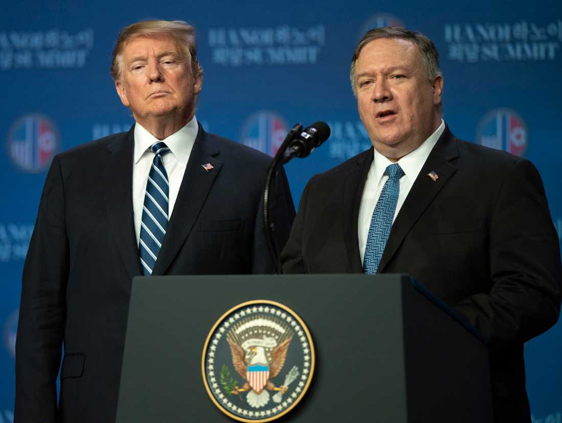 Donald Trump och USA:s utrikesminister Mike Pompeo hintade om att de ville förbjuda TikTok i USA.
