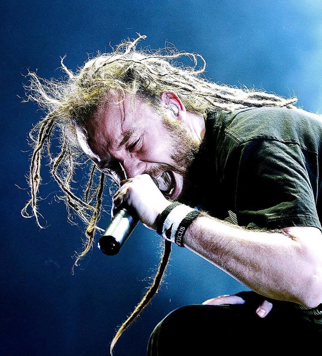 Sångaren Anders Fridén längtar efter turnén.