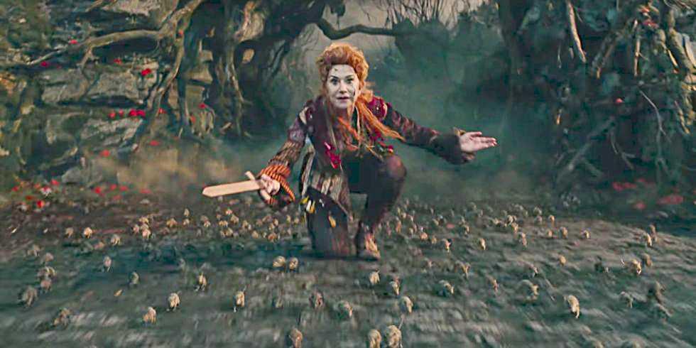 """Helen Mirren i """"Nötknäpparen""""."""