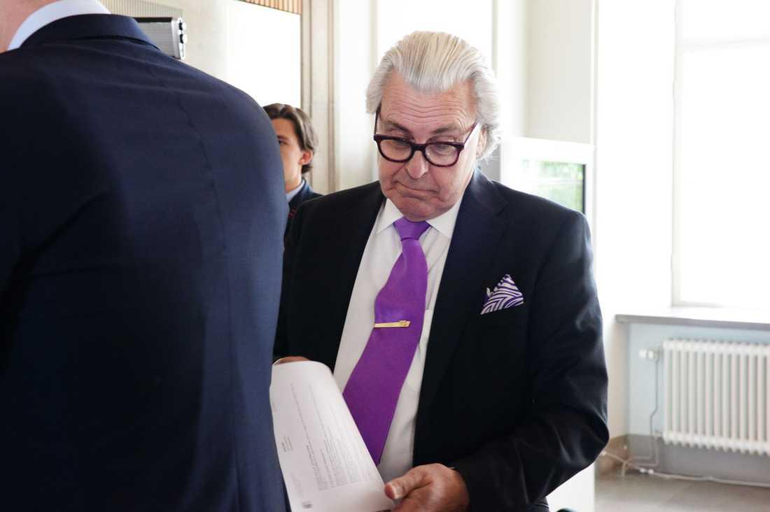 Jonas Falks advokat Thomas Martinson.