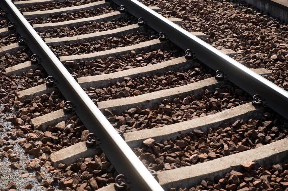Åskoväder orsakade problem i tågtrafiken i södra och västra Sverige på onsdagen. Arkivbild.