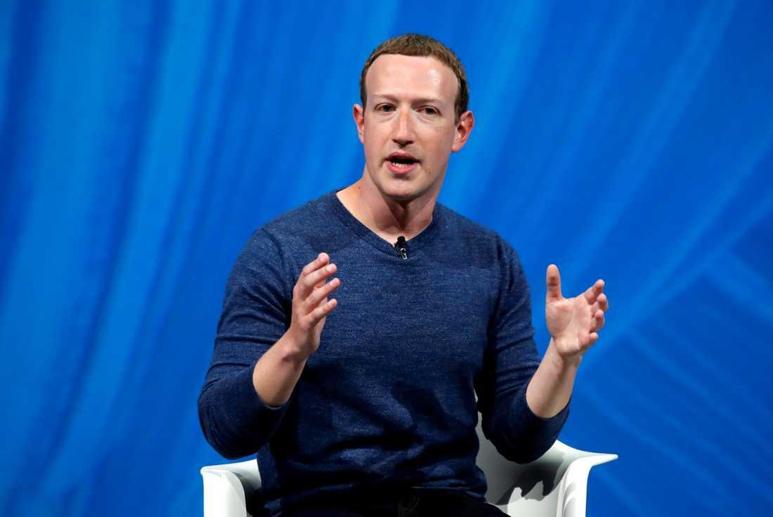 Mark Zuckerberg, medgrundare till nätverkstjänsten Facebook.