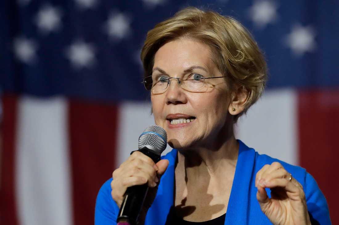 Den demokratiska presidentaspiranten och Massachusettssenatorn Elizabeth Warren har klättrat i opinionsmätningarna de senaste månaderna.