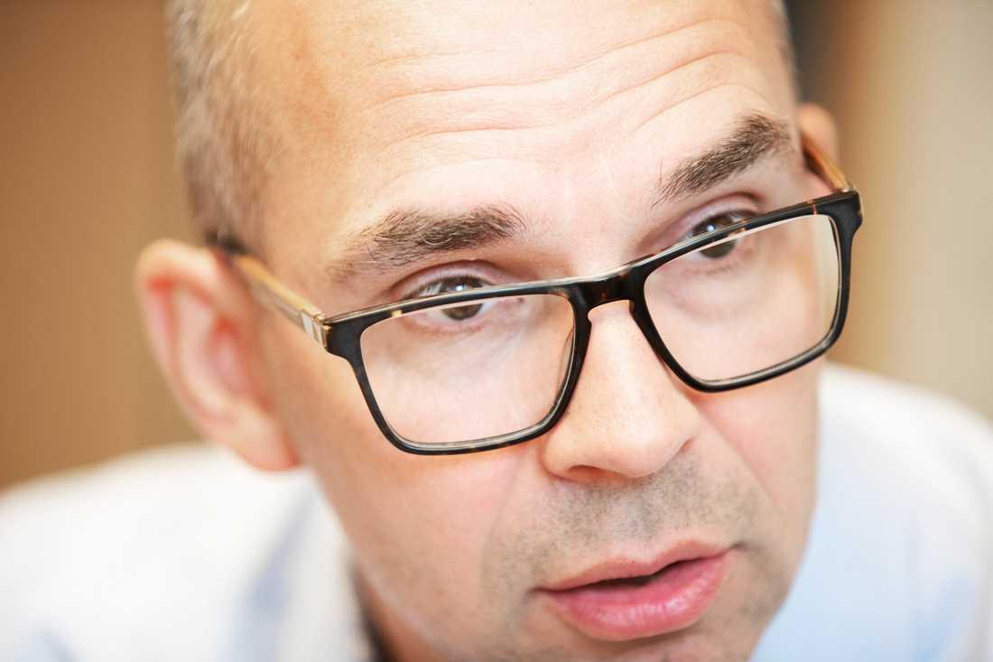 Kommunalrådet Niklas Nordström, Socialdemokratera i Luleå.
