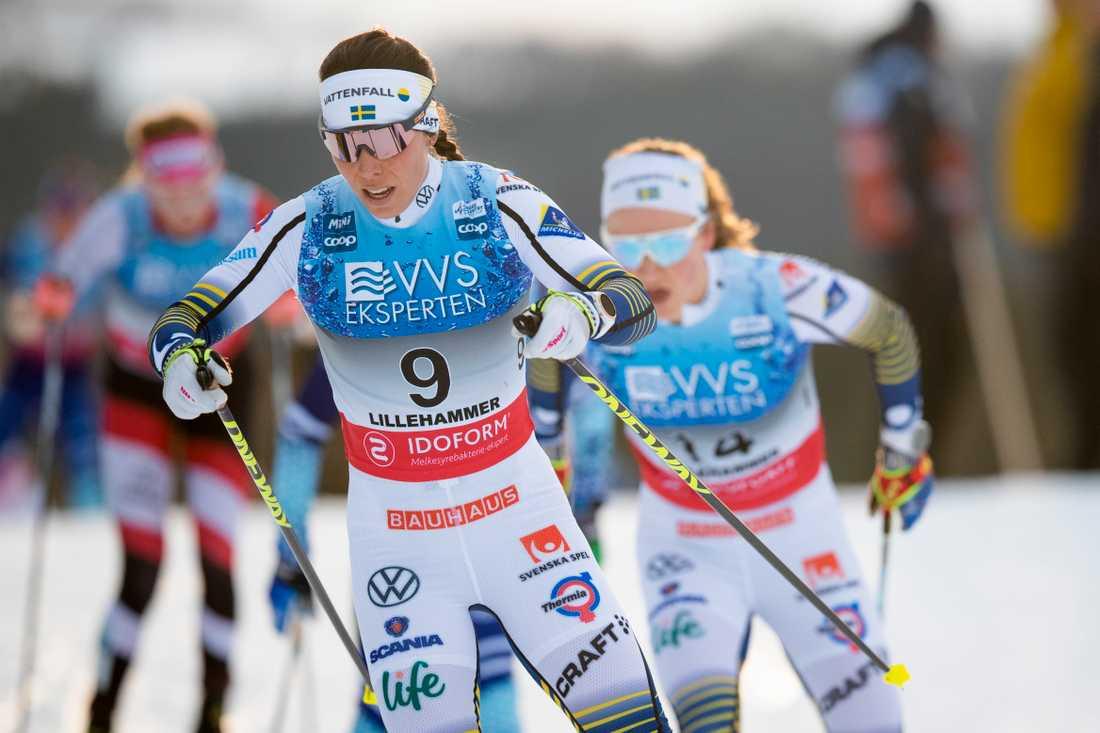 Charlotte Kalla vann Tour de Ski på damsidan 2007/2008. Hon är en av de åkare som tas ut till touren som startar 28 december i Lenzerheide. Arkivbild.