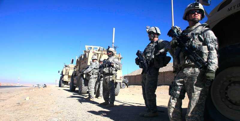 Amerikanska trupper i Afghanistan. Foto: AP