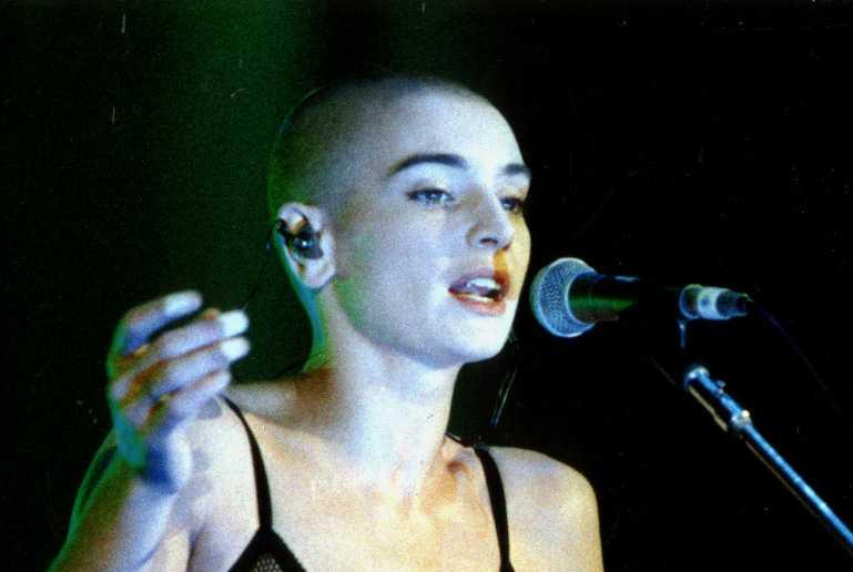Sinéad O'Connor.