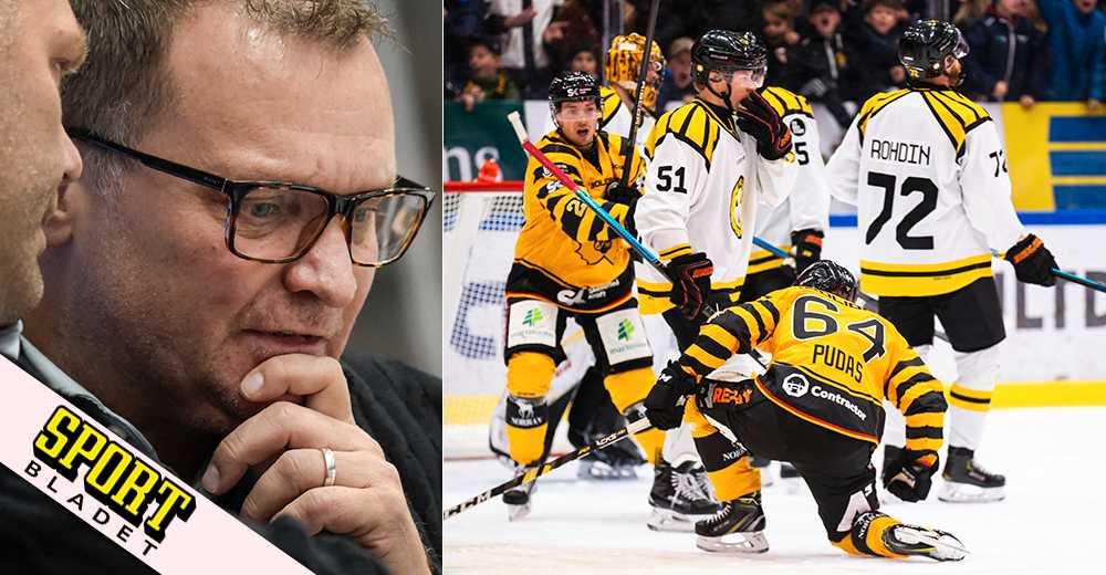 Hård kritik mot Brynäs tränare