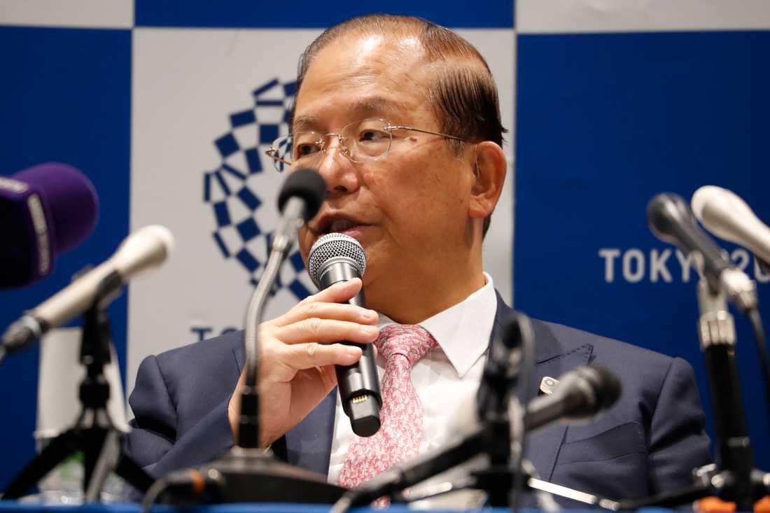 Det är inte säkert att OS kan genomföras i Tokyo nästa år om inte Japan har kontroll på coronaviruset, menar Toshiro Muto, vd för OS-organisationen. Arkivbild.