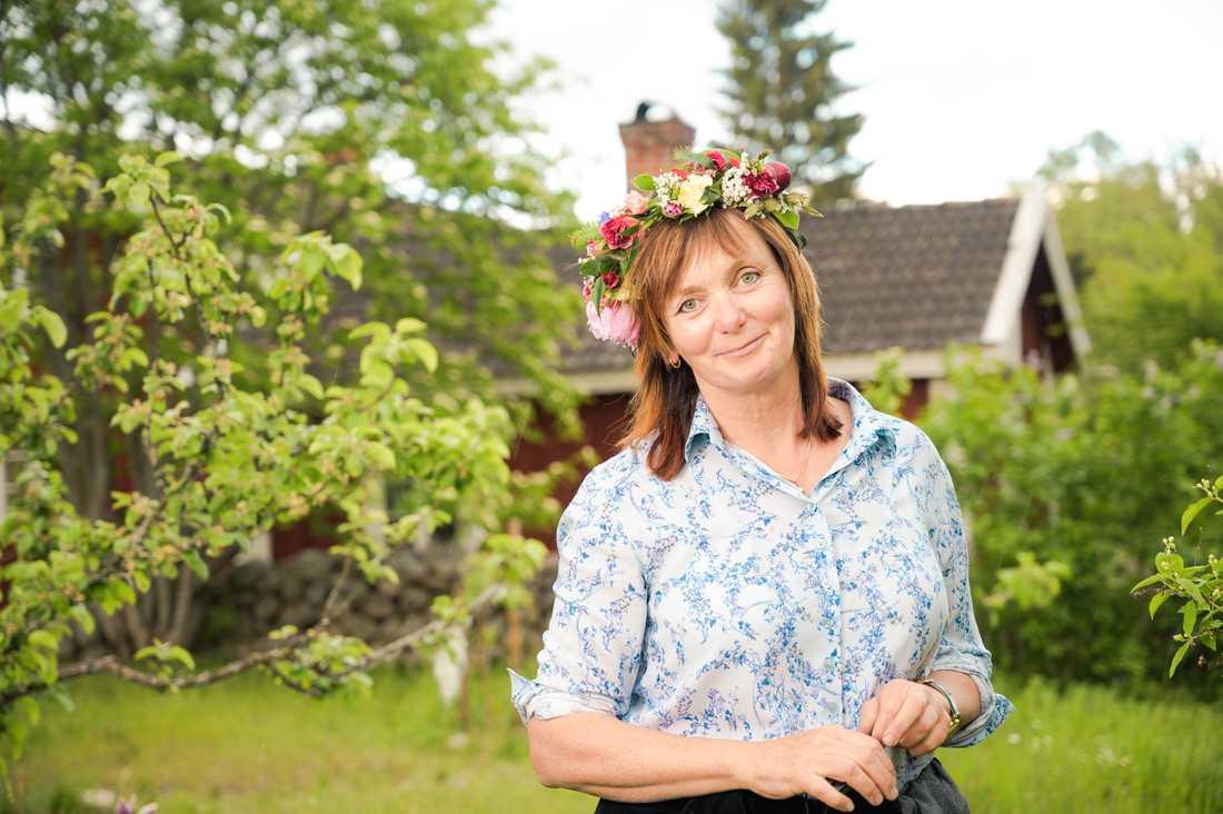Gunilla Kindstrand berättar nästan inget om sin egen person i Sommar i P1.