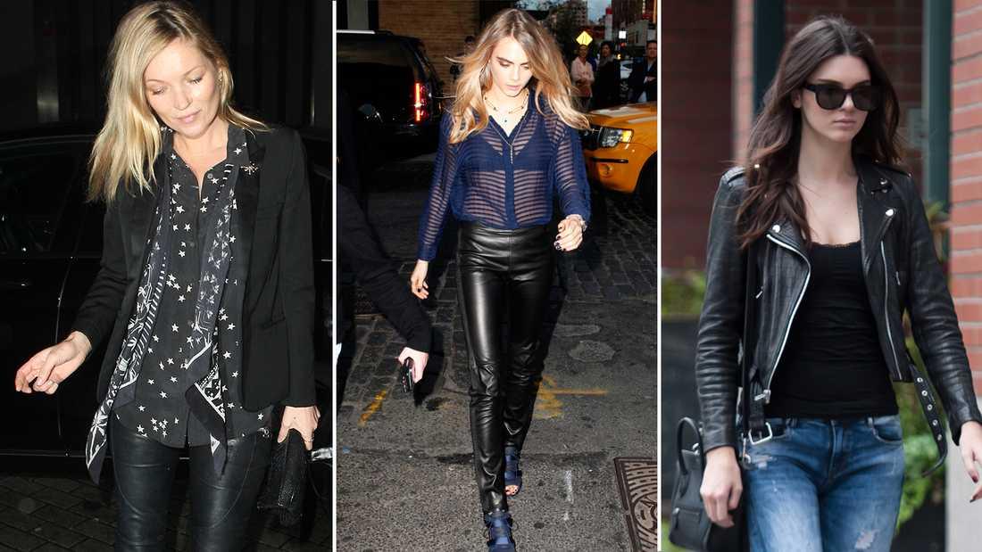 Kate Moss, Cara Delevingne, Kendall Jenner