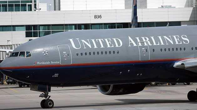 Ett annat plan från United Airlines.