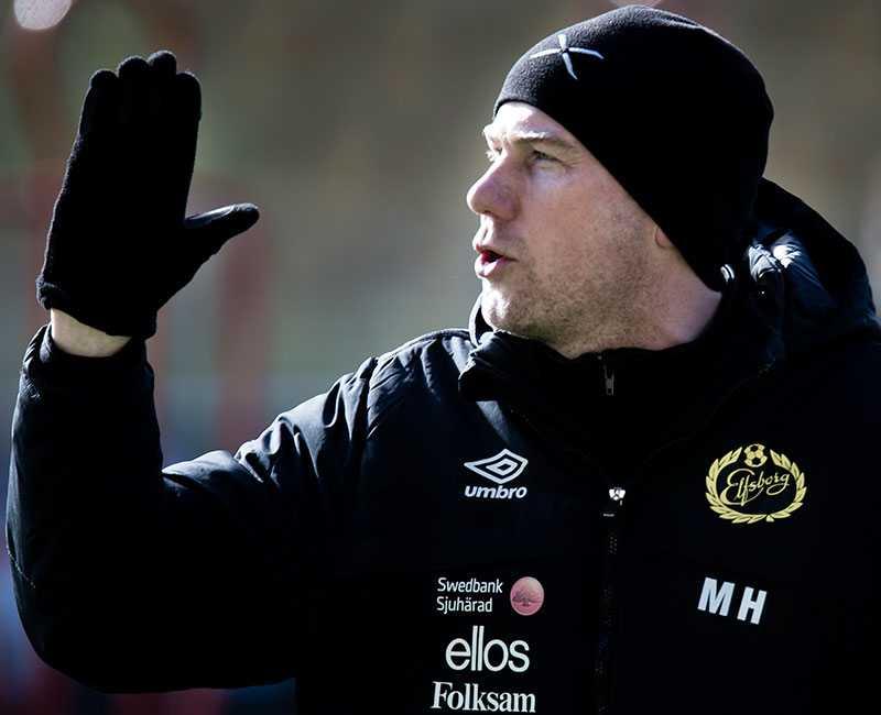 Magnus Haglund, tränare som tog över Elfsborg efter samtal med Klas Ingesson.